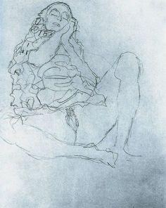 erotic work by Gustav Klimt