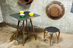 Table bistrot Bender - design industriel - Design industriel à la fois sobre et pratique
