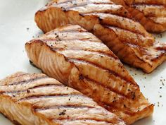 Miso-Ginger Marinated Grilled Salmon Recipe | Bobby Flay | Food Network