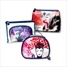 MAKEUP BAGS $10 each; Walgreens locations nationwide.
