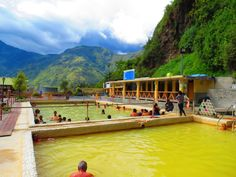 thermal baths in Banos (Ecuador) these are the best and your skin OMG can you say flawless !! can't wait to travel back to my roots soon