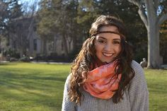 Boho Brown Suede Braided Headband for Women by BizzyBCrafts
