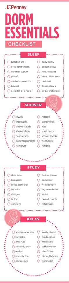 Get Ready For College With This Dorm Checklist. Pack Everything You Need  For Your Dorm Part 33