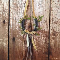 Our ring bearer's horseshoe ...... via @angela4design