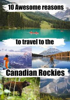 10 Awesome things to do in the Canadian Rockies - Love & Road Canadian Travel, Canadian Rockies, Canadian Food, Travel Usa, Travel Tips, Travel Destinations, Travel Guides, Alberta Canada, Banff Canada
