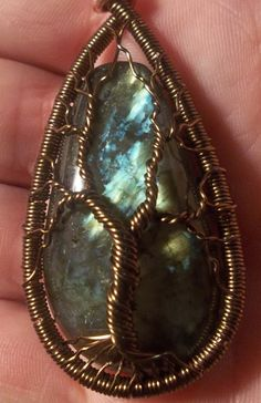 Labradorite Tree of Life by alexart on Etsy, $40.00  seen this...this pic is a closer view
