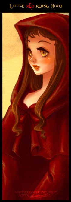 Little Red Riding Hood by kanmi on DeviantArt
