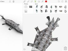 Foldify is an iPad app that has been popular for a couple of years. Foldify is an iPad app that students can use to design all kinds of 3D figurines on their iPads then print them out to fold and a...