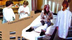 https://flic.kr/p/GgLvnC | Akutpsychiatrie,Fachkrankenhaus,Straitjacket,Patienten-Fixierung,DDR Krankenschwester und Ärztin,Psychiatry,Psychiatrie,Posey Straitjacket