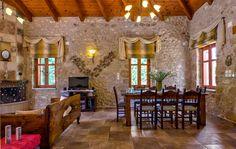 Villa Kiparissi in Asteri village, Rethymno, Crete, Greece