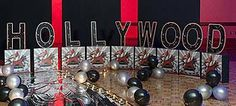 The Hollywood Letter Set is a fun way to recreate the Hollywood Hills at your next Hollywood themed party or event. Your guest will take home great memories with snap shots taken in front of the 4' high x 16 1/2' Hollywood sign.
