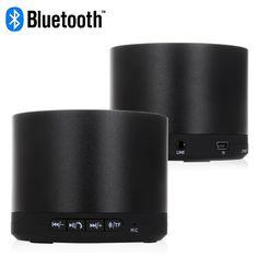 Bluetooth LED Indicator Speaker - Black Smartphone Speaker for iPhone & Samsung #bluetooth #led #speaker #black #smartphone #speakers #iphone #samsung $20.48 Best Speakers, Bluetooth, Smartphone, Samsung, Led, Iphone, Accessories, Black, Black People