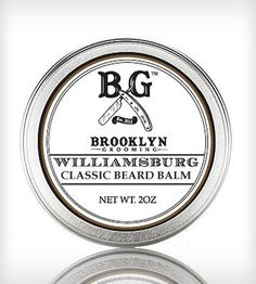 Classic Beard Balm by Brooklyn Grooming Co.  on Scoutmob Shoppe