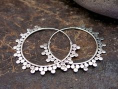 Sunray Silver Earrings by Nishiibo on Etsy