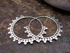 Sunray Silver Earrings by Nishiibo on Etsy
