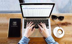 #apple #caffeine #coffee #coffee shop #computer #denim #desk #excel #hands #job #laptop #macbook #macbook pro #macchiato #notebook #screen #spreadsheet #study #sunglasses #table view #typing #wood #work #working