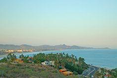 The amazing view to San José del Cabo from Villa Vista del Mar, a 4-bedroom vacation rental in Los Cabos #Mexico