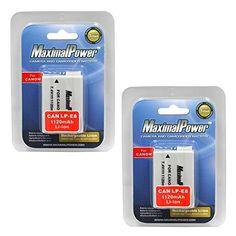 Biopedic Mattress Topper Extra camera batteries: MaximalPower Battery 2-Pack for Canon LP-E8 ...