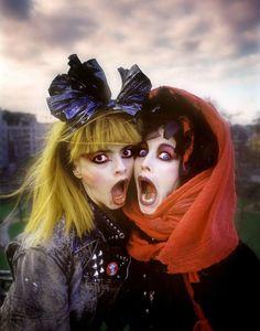 'Cha Cha': Nina Hagen and Lene Lovich star in 'lost' punk film, 1979 Nina Hagen, Jimi Hendrix, Jorge Guzman, Photo Rock, 1980s Fashion Trends, El Rock And Roll, New Wave, We Will Rock You, Club Kids