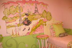Paris Themed Bedroom   Mural Painting Process Arizona, Mural Artist Arizona, Mural Painter ...