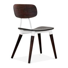 Dark Brown/Walnut Copine #Chair