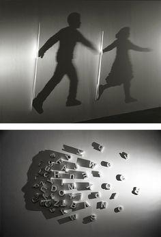 Amazing Light & Shadow Art by Kumi Yamashita | Inspiration Grid | Design Inspiration