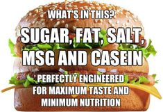 Addictive Ingredients in Fast Food and their Effect on Your Body