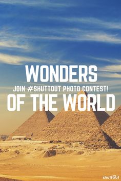 Show us the most #amazing #wonders of the #world in this #photography #contest  #travel #nature #buildings #landscapes