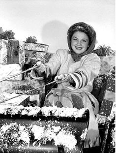 Vintage Hollywood Holiday: Anne Baxter, 1943,    Christmas during WW2 Anne Baxter was an American actress known for her performances in films such as The Magnificent Ambersons, The Razor's Edge, All About Eve and The Ten Commandments.