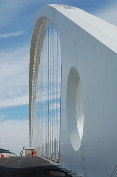 Calatrava Ponte, Reggio Emilia,Italy