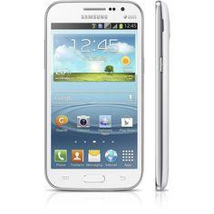 """Samsung Galaxy Win Duos I8552 Branco, Dual Chip, Processador Quad Core 1.2Ghz, Android 4.1.2, 3G,Câmera 5MP,Tela 4.7"""", Memória interna 8GB"""