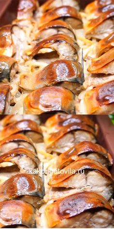I want to eat such fish more and more. Getting ready is easy – Shellfish Recipes Ketogenic Recipes, Keto Recipes, Dessert Recipes, Cooking Recipes, Shellfish Recipes, Seafood Recipes, Tasty, Yummy Food, Russian Recipes