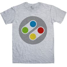 Inspired by SNES t-shirt - Controller £15.99 from 8Ball.co.uk