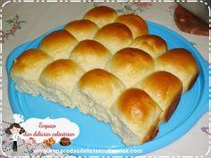 Pão, pão caseiro fofinho, passo a passo em vídeo