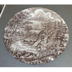 English Porcelain - The Mill by Alfred Meakin. No damage for sale in Vereeniging Alfred Meakin, Breakfast Bowls, Milling, Dinner Plates, Decorative Plates, Porcelain, English, Porcelain Ceramics, English Language