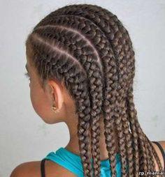 afrika örgüsü - Google'da Ara Braided Hairstyles For Black Women, African Braids Hairstyles, Braids For Black Hair, Straight Back Braids, Natural Braids, Pelo Afro, Afro Style, Beautiful Braids, Hair Designs