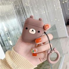 Cool Gadget For Home - Gadget Design Creative - Camping Gadget Genius Ideas - Cool Gadget For Men - Baby Gadget Cute Ipod Cases, Iphone Cases, Fone Apple, Airpods Apple, Aesthetic Phone Case, Earphone Case, Air Pods, Airpod Case, Rilakkuma