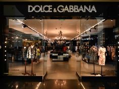 Dolce & Gabbana - Launched in Milan in 1985 by the Italian designers Domenico Dolce and Stefano Gabbana this eponymous label quickly became known across the globe for daring and passionate designs, defining a new generation of Italian fashion.