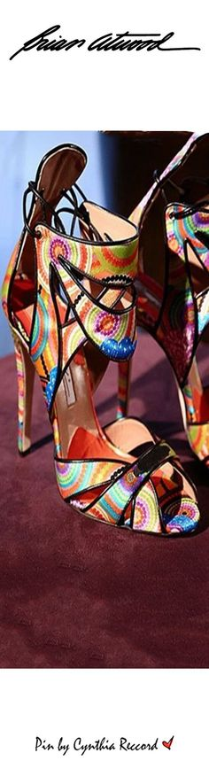 Brian Atwood Lookbook | SS 2016 Collection | cynthia reccord