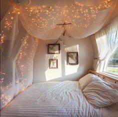 dormitorio navidadecoracion-luces-de-navidad