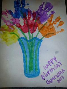 Ideas birthday presents for grandma from kids grandmothers 90th Birthday Cards, Homemade Birthday Cards, Birthday Crafts, Birthday Recipes, Birthday Nails, Birthday Cards From Kids, Birthday Ideas, Birthday Week, Birthday Bash