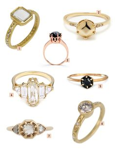 unique engagement rings from Jewelers Mutual
