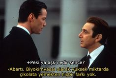 The Devil's Advocate - Keanu Reeves, Al Pacino, Charlize Theron 1997 Al Pacino, Keanu Reeves, Best American Actors, The Devil's Advocate, Call My Dad, Movie Lines, Film Movie, Movie Scene, Book Quotes