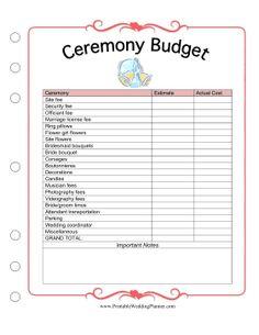 wedding planner book free