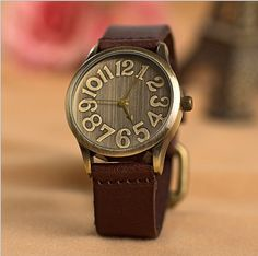 Handmade Vintage Watch / Wrist Watch / Leather Watch / Men & Women Retro Watch (WAT00121)