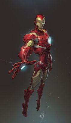 Some of my friends requested me to draw iron-man, ages ago. It's been there, half- done… couldn't touch it for months… so finall. Iron Man Stark, Iron Man Tony Stark, Marvel Comic Character, Marvel Characters, Iron Man Fan Art, Iron Man Drawing, Comic Style Art, Iron Man Armor, Ironman
