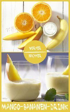 http://eatsmarter.de/rezepte/mango-bananen-drink Dieses Drink versorgt Euch mit jeder Menge Vitamine und schmeckt dazu noch unglaublich gut.