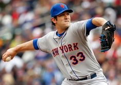 Matt Harvey NY Mets pitcher gets the win 4-2 over the Twins