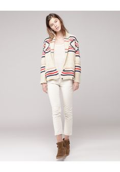 Isabel Marant is a total favorite of ours, and once again it's spot on with this awesome cardigan!