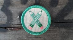 Crossing Pencils 'Storyteller' Scout-Style Merit Badge for Writers